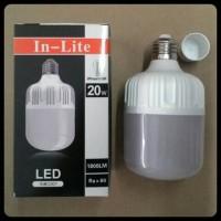 harga Bohlam Lampu Led 20 Watt In-lite Tokopedia.com