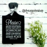Talenan Hias For Bathroom / Home Decor / Dekorasi Rumah