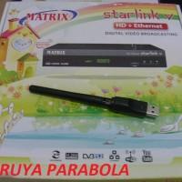 Paket Matrix Starlink V HD Ethernet + USB Wifi Dongle Skybox