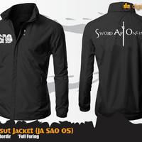 SAO Parasut Jacket (Sword Art Online JA SAO 05)