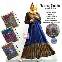Baju Dress Batik  BATEEQ CALVIN