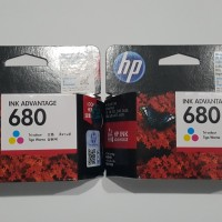 HP Original Ink Cartridge 680 Color