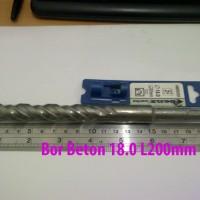 Mata Bor Beton SDS / Colok 18mm Panjang 20cm