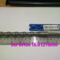 Mata Bor Beton SDS / Colok 16mm Panjang 21.6cm