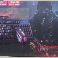 Keyboard Gaming Marvo KM400