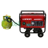 GENSET / GENERATOR SET GAS LPG LONCIN LC4800DDC-L (2500 WATT)