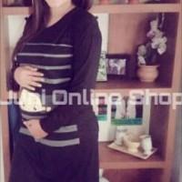 Baju Hamil Unik Midi Dress Karakter Maternity Dress Lucu