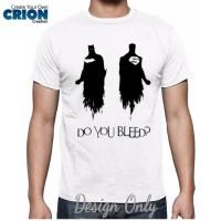 harga Kaos Batman V Superman - Do You Bleed ? - By Crion Tokopedia.com