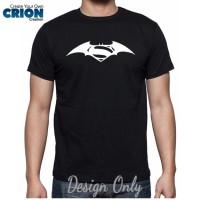 harga Kaos Batman V Superman - Dawn Of Justice Logo - By Crion Tokopedia.com