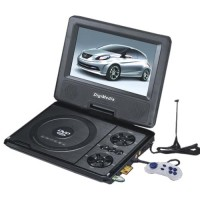 "DVD PORTABLE DIGIMEDIA 9,5"" 3D DM FM MP3 RADIO LED TXT JPEG USB PLAYER"