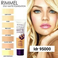 Light Ivory - Rimmel Stay Matte Foundation