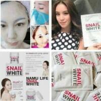 ORIGINAL THAILAND | SNAIL WHITE MASK - MASKER SNAIL WHITE