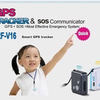 Smart GPS Tracker RF-V16 untuk Anak Kecil dan Orang Tua / Lansia