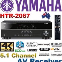 Yamaha Home Theater amplifier HTR-2067 - Hitam