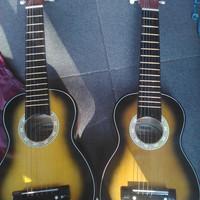 Gitar akustik Junior mini ( guitalele custom ) + softcase