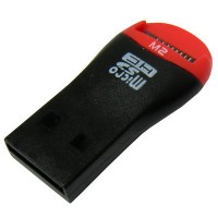 Mobile Mate Micro SD Memory Card Reader / TF T-Flash MicroSD MicroSDHC