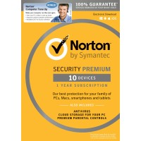 Norton Security Premium 1 tahun / 10 PCS
