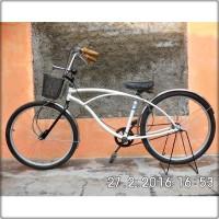 harga sepeda lowrider ukuran 26 white tampak seperti di gambar Tokopedia.com