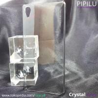 harga Sony Xperia Z5 Premium PIPILU Crystal Original Case Hardcase Cover Tokopedia.com