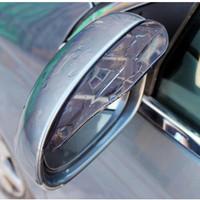 Mika talang air Pelindung kaca cermin spion mobil anti hujan - HMB013