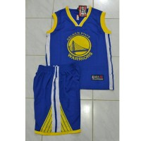Jersey Basket Kids - Golden State Warriors (GSW)