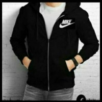 jaket NIKE Premium zipper with  apparel