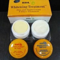 RDL whitening treatment day & night cream - 8 days treatment