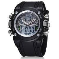 Ohsen Waterproof Quartz Digital Sport Watch - AD0721-1 - Black