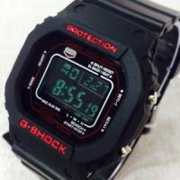 G-shock Gls 5600 Black Red