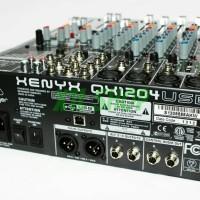 MIXER BEHRINGER QX1204USB QX 1204 USB QX1204 USB BUILD IN SOUND CARD
