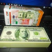 Speaker Portabel bentuk Uang 100 Dollar Amerika