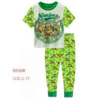 harga Baju Tidur Anak Laki-Laki / Piyama Anak - Ninja Turtle CMS007 Tokopedia.com