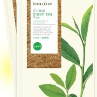 INNISFREE - IT'S REAL GREEN TEA MASK