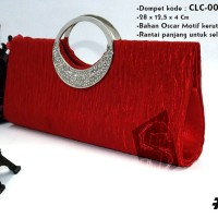 Clutch / Dompet / Tas Selempang Pesta Cewek / Wanita Import CLC-001