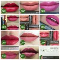 mineral botanica soft mate lipstick