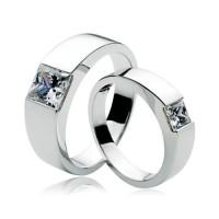 cincin perak couple tunangan asli kotagede