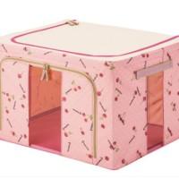 Cherry Pink 55 L-Storage Box / Living Box / Box Serba Guna / Home Livin