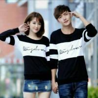 Kaos Couple Wisdom Lengan Panjang