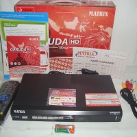 Matrix Garuda Receiver Parabola HD PVR MPEG4 (Prepaid)