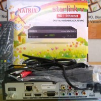 Matrix Starlink V HD Ethernet Receiver Parabola