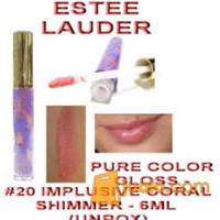 Estee Lauder - Impulsive Coral Shimmer Gloss