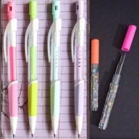 Pensil Mekanik Raut Isi Besar 2 Mm Kualitas Bagus + Free Refill