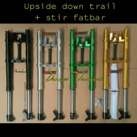 upside down trail variasi + stang fatbar