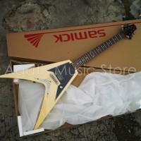 Harga gitar flying v jtr samick slivia sv10 yellow | Hargalu.com