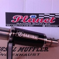 Knalpot Sakura FULLSYSTEM For Vixion Old / New / Advance