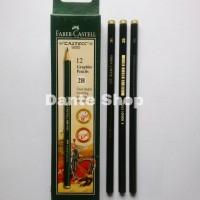 Pensil 2B Faber Castell ( per Lusin )