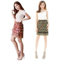 Jual Rok (Pendek) Songket Bali / Ethnic Skirt Murah