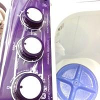 Mesin Cuci Sharp EST1090 Washing Machine 10KG 2Tabung Asli, Baru, Garans