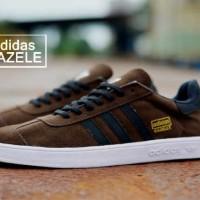 harga sepatu casual kuliah pria sneaker  ADIDAS GAZELLE IMPORT Tokopedia.com
