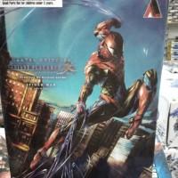 Play Arts Kai Spiderman Marvel Universe Square Enix Include Base KW